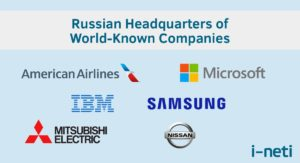 Companies with HQ in Russia